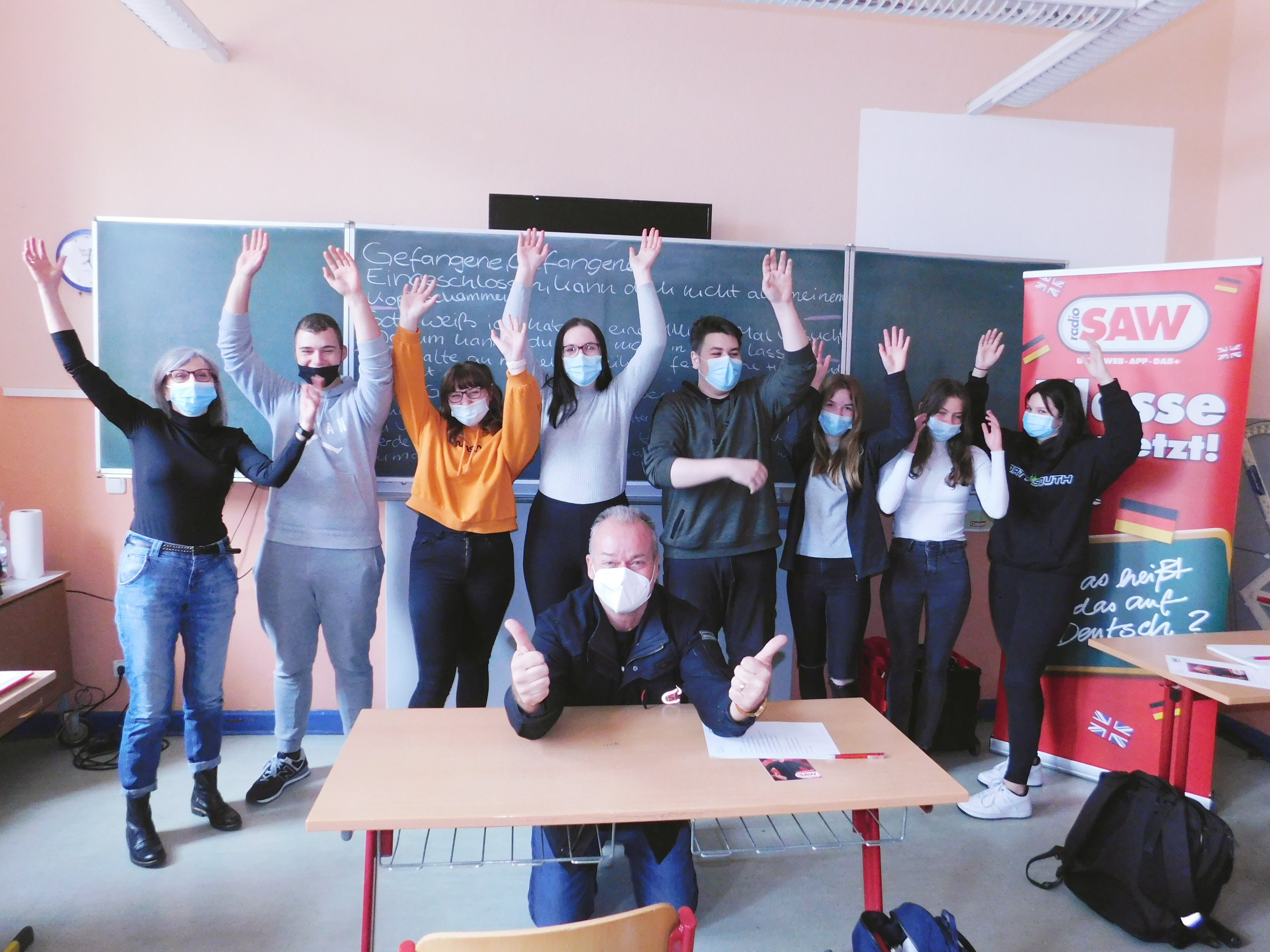 Klasse übersetzt! in Burg