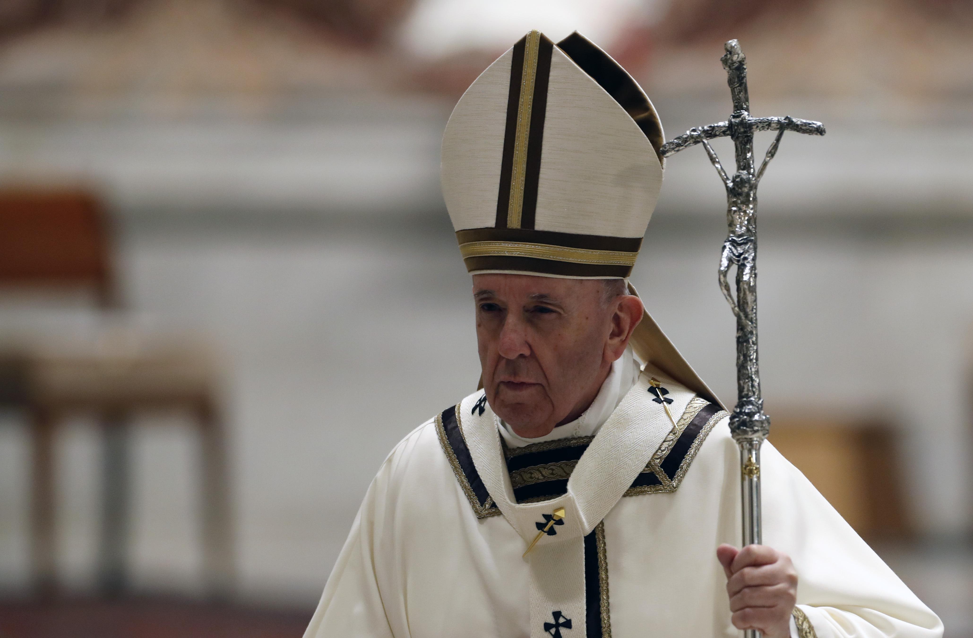 Papst Franziskus Hölle