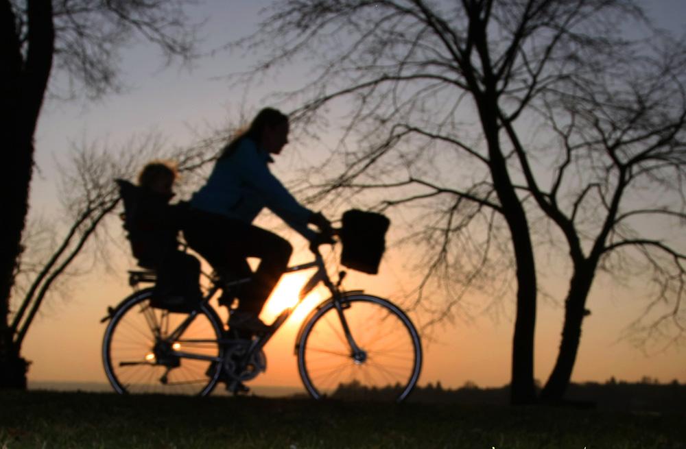 Kindersitz am Fahrrad