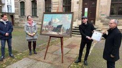 Halberstadt bekommt Gemm-Gemälde