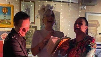 Adele auf Laura Dockrills Hochzeitsfeier