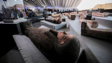 Antike Sarkophage in Ägypten