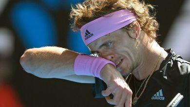 Alexander Zverev, Australien Open
