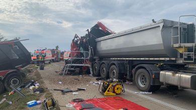 Tödlicher LKW-Unfall auf der A14 bei Bernburg