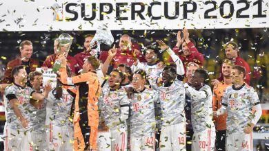 Bayern feiert den Supercup Sieg
