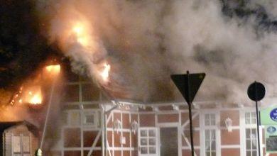 Feuer zerstört Gaststätte