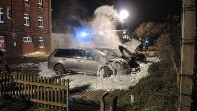 Autos in Weferlingen ausgebrannt