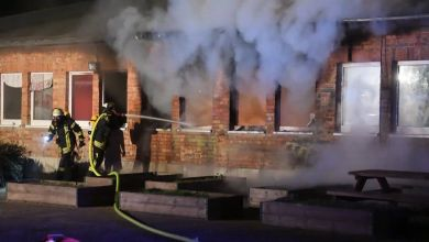 Brand in Magdeburger Asyl-Unterkunft