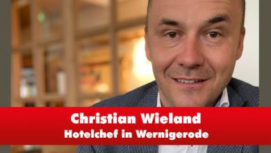 """Christian Wieland vom Hotel """"Weißer Hirsch"""" in Wernigerode"""