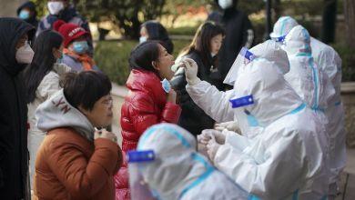 Coronatests in China