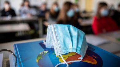 Mund- und Nasenschutz Schulklasse
