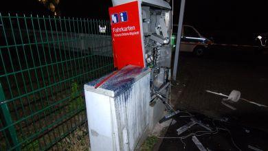 Automat komplett zerstört