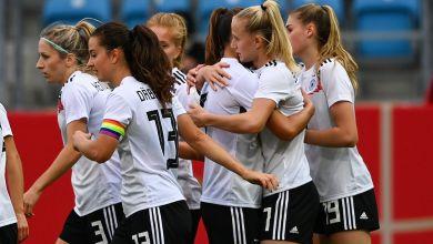 Frauenfußball WM-Qualifikation: Deutschland - Serbien