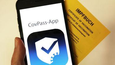 Das Logo der CovPass-App