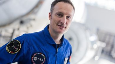 ESA Astronaut Matthias Maurer