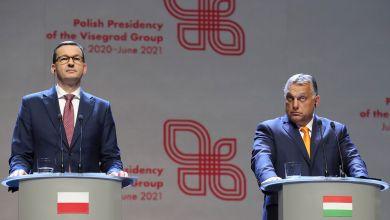 Mateusz Morawiecki, Ministerpräsident von Polen, und Viktor Orban, Ministerpräsident von Ungarn