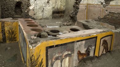 "Antike ""Imbissbude"" in Pompeji"