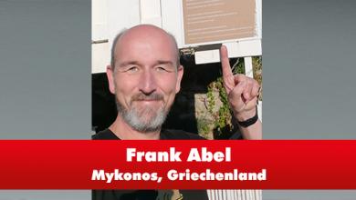 Frank Abel aus Griechenland