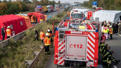 LKW-Unfall auf der A2