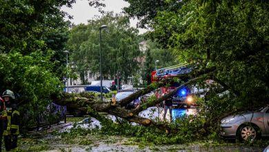 Unwetter in Brandenburg
