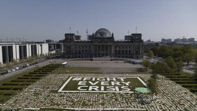 Globaler Klimaprotest - Berlin
