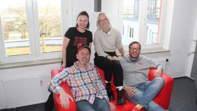 Stefanie Heinzmann vor zwei Jahren bei radio SAW im Funkhaus