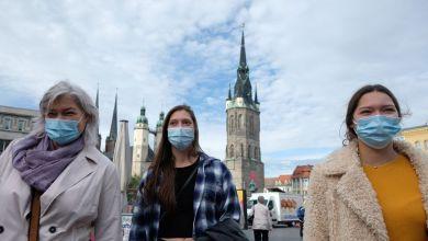 Seit dem 22.10.2020 muss in der Innenstadt von Halle eine Maske getragen werden