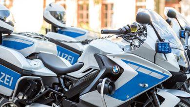 Motorräder Polizei