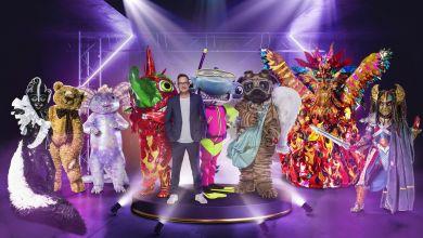 Matthias Opdenhövel und die Masked Singer der 5. Staffel