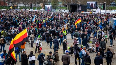 Querdenker-Demonstrationen in Stuttgart
