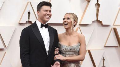 Scarlett Johansson und Colin Jost