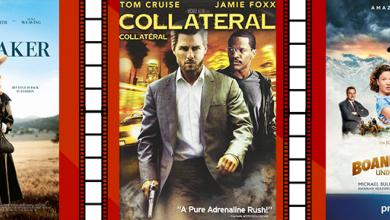 Filmplakate zu den verschiedenen Streamingtipps