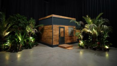Dschungelshow Tiny-House