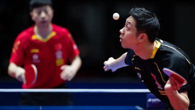 Xu im Finale gegen Ma