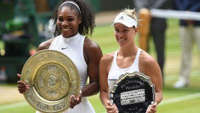 Serena Williams, Angelique Kerber