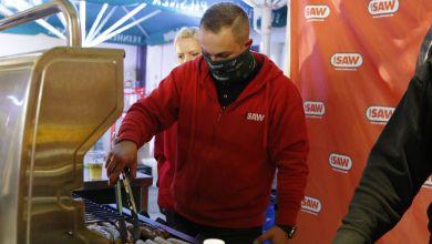 radio SAW Abgrillen in Schönebeck