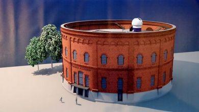Planetarium Gasometer Halle