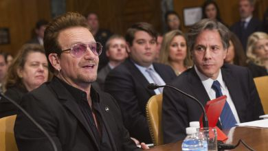 Bono im Senat