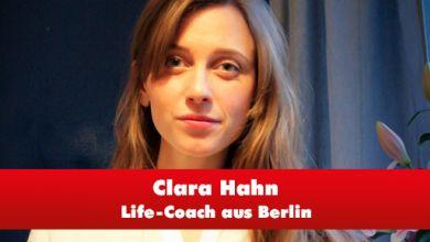 Life-Coach Clara Hahn
