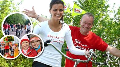 Familien-Fahrrad-Feste