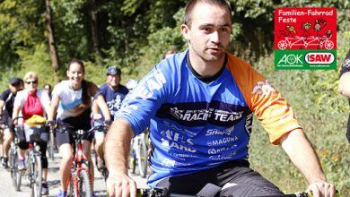 Familien-Fahrrad-Fest