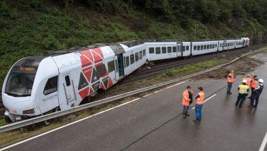Regionalbahn bei Koblenz entgleist