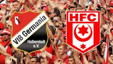 Germania Halberstadt - Hallescher FC