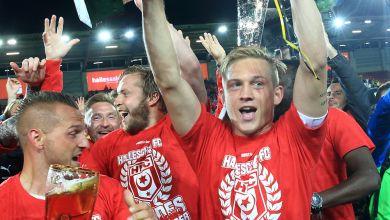 Hallescher FC Landespokalsieger