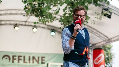 Holger Tapper beim OFFLINE Festival 2021 in Magdeburg