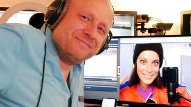 Silbermond-Sängerin Stefanie Kloß im radio SAW Interview mit Ingolf Kloss