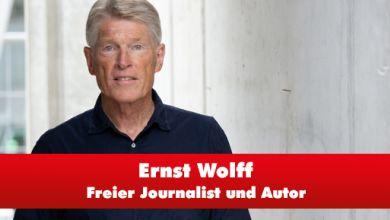 Journalist & Autor Ernst Wolff