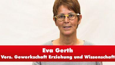 Eva Gerth, Vorsitzende GEW Sachsen-Anhalt