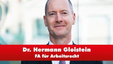 Interview mit Dr. Hermann Gloistein