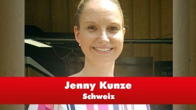 Jenny Kunze aus der Schweiz